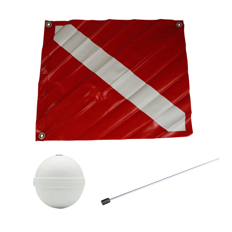 Joy Fish Dive Flag and Float - Lee Fisher Sports