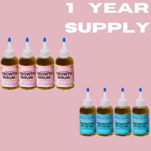 Hair Growth System- 1 Year Supply!