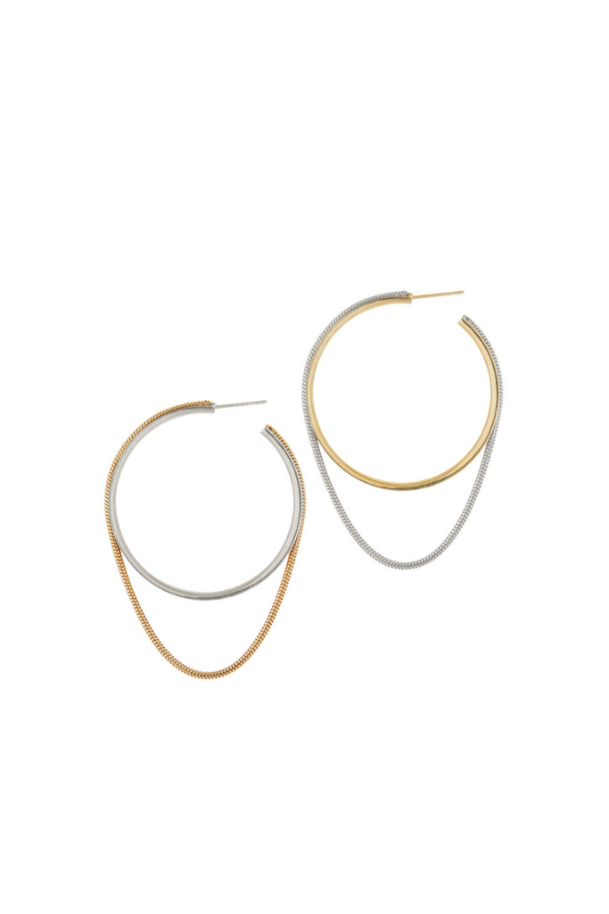 TWINKLER HOOPS LARGE MIXED