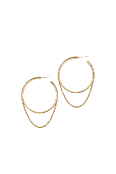 TWINKLER LARGE HOOPS
