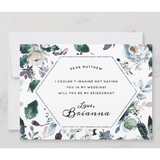 Bridesman Proposal Card
