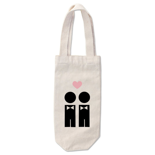 Gay Groom Wine Tote