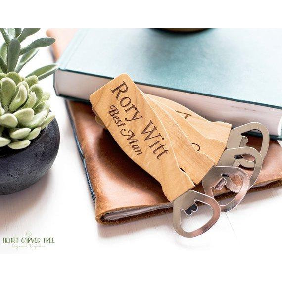 Personalized Wooden Bottle Opener