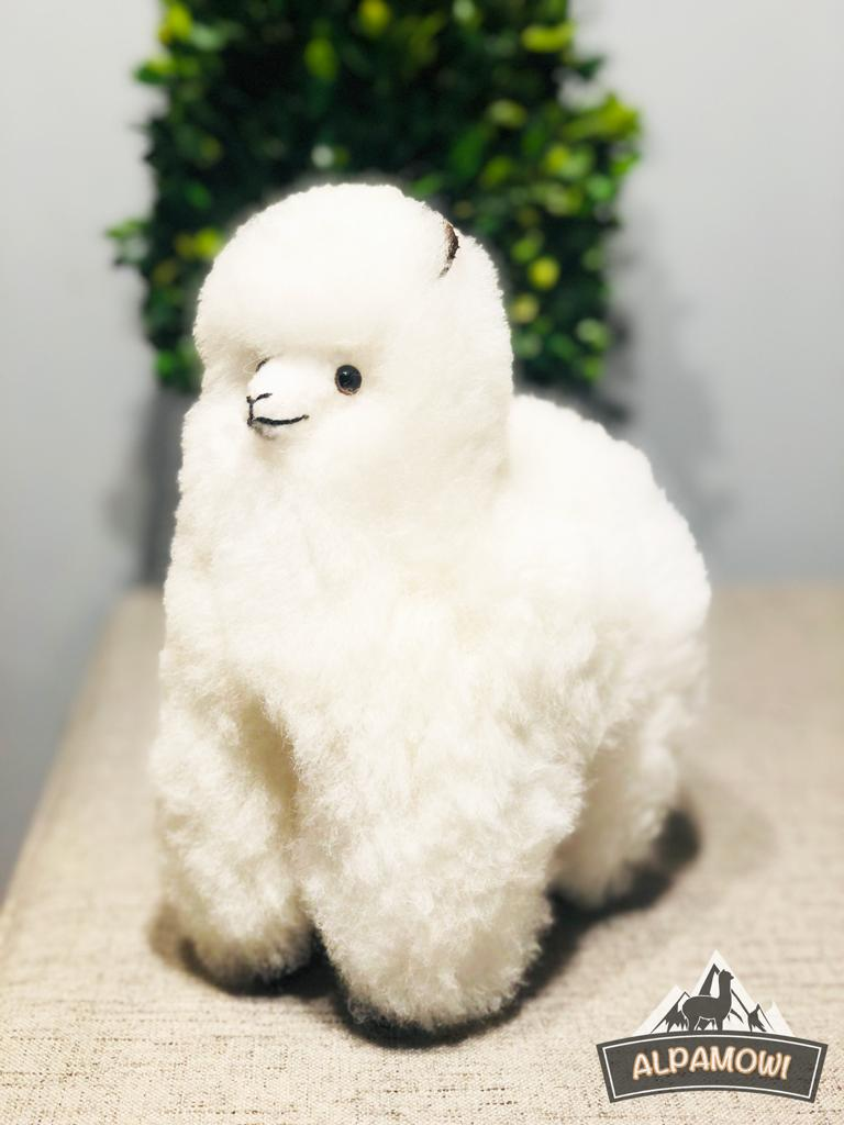 Handmade Alpaca Toy| Perfect Soft Alpaca Fur Stuffed Christmas Gift| Directly Sourced From Peru | Hypoallergenic Alpaca wool Stuffed Llama