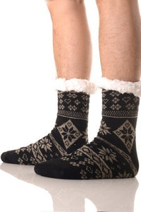 Opaque Organic Trouser Winter Socks