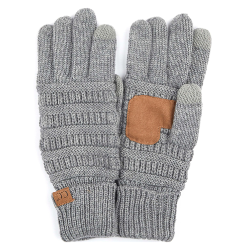 CC Knitted Touch Screen Gloves | Driving Gloves | Cycling Gloves | Perfect Back to School | Christmas Gift