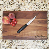 "Adventure - Engraved Walnut Cutting Board (11"" x 16"") - Hailey Home"