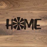 "Farm Home - Engraved Walnut Cutting Board (11"" x 16"") - Hailey Home"