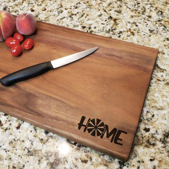 Farm Home - Engraved Walnut Cutting Board (11