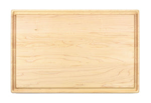 "Large Maple Cutting Board With Juice Groove (11"" x 17"") - Hailey Home"