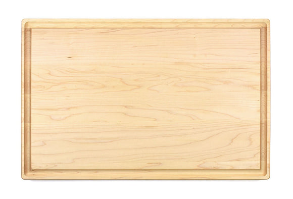 Large Maple Cutting Board With Juice Groove (11
