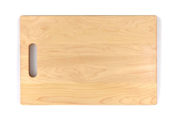 Maple Cutting Board With Handle (11