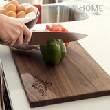 "Personalized Walnut Cutting Board (11"" x 16"") - 11"" x 16"" - Bulk Discounts - Hailey Home"
