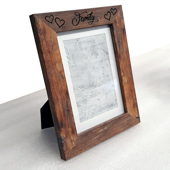 Rustic Hearts Custom Engraved 5
