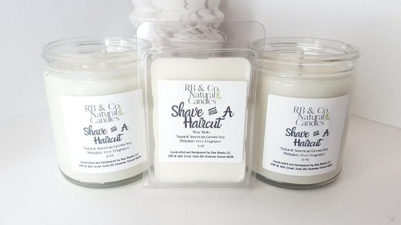 Shave and a Haircut | Natural Soy Candle - Hailey Home