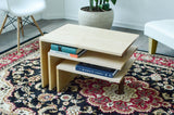 Three Tier Modern Coffee Table - Hailey Home
