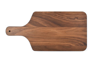 "Walnut Cutting Board With 4 Inch Handle (8"" x 17"") - Hailey Home"
