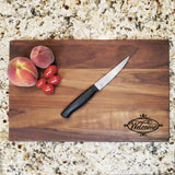 Welcome Decorative - Engraved Walnut Cutting Board