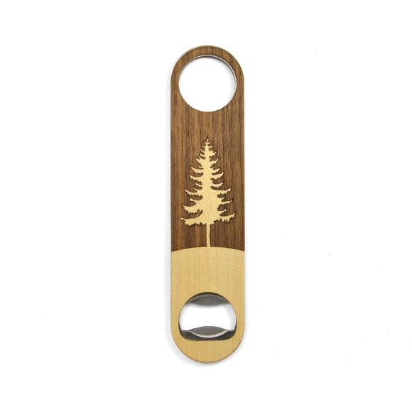 Wooden Bottle Opener - Tree - Hailey Home