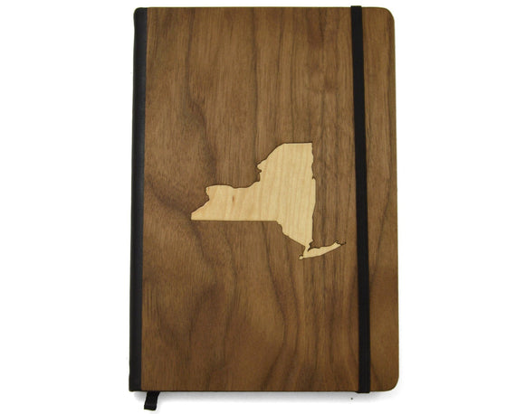 Wooden Journal - Choose Your State - Hailey Home