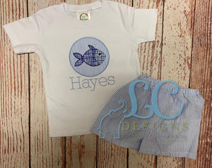 Fish Applique Top