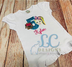 JOJO Birthday Applique Top