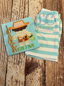 Beach Bum Applique Top