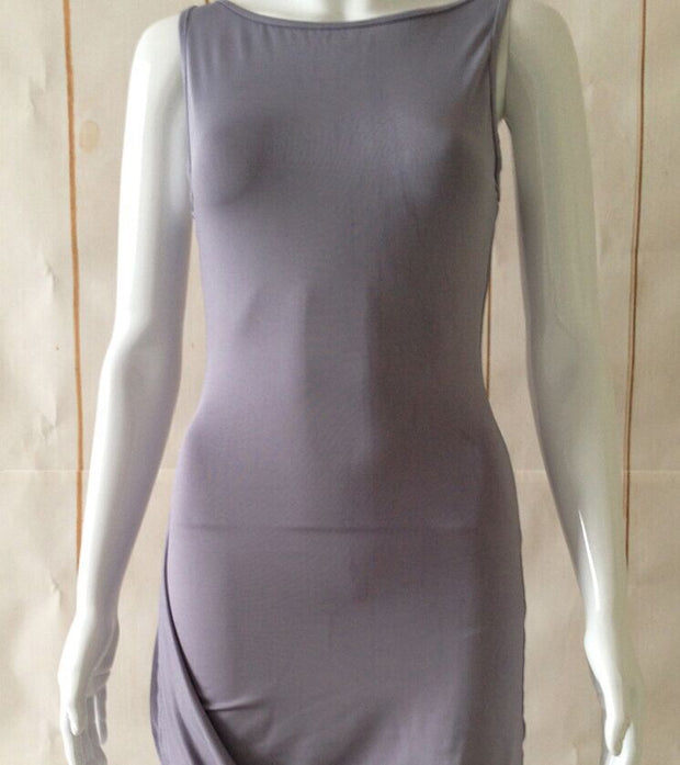 Women Plain Color Tight-fitting Party Dress