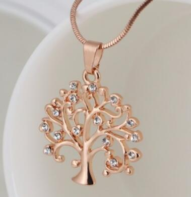 54MM Big Tree Of Life Pendant Necklaces