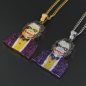 Cosplay Clown Pendant Necklace