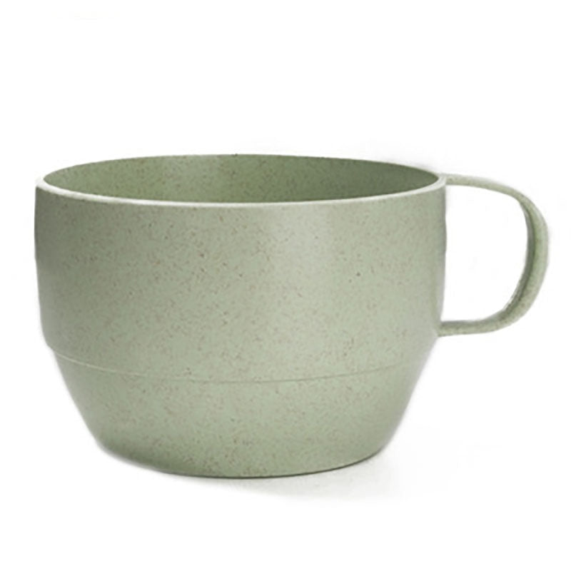 DIHE Wheat Straw Tea Cup Literature and Art Environmental Protection