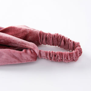 Velvet Elastic Stretch Headband