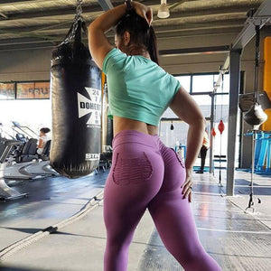 Women fashion Leggings women fitness bodybuilding push up elastic Leggings legging pants high waist training.