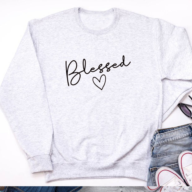 Stitching Long-sleeved Sweater - Blessed Love