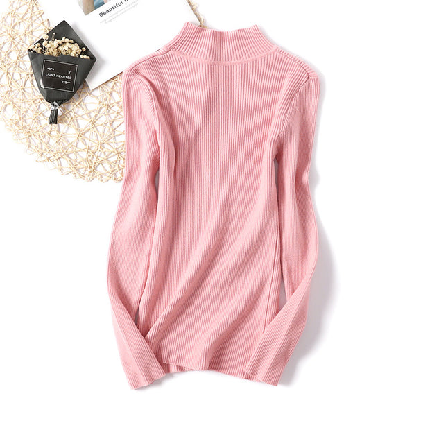 Sleeveless knit bottoming shirt