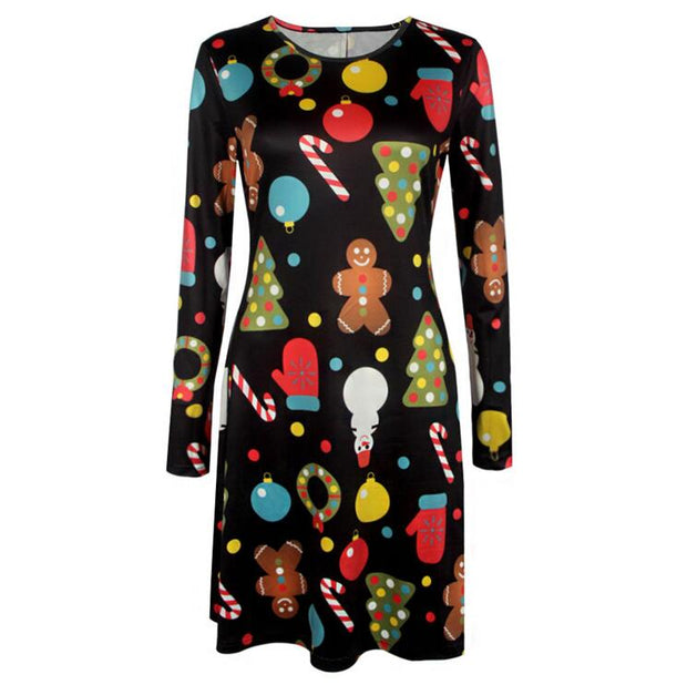 Eight Kings Big size chrismas dress