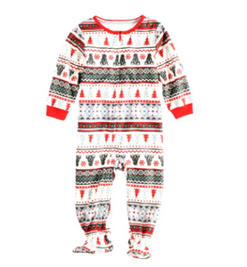 Christmas Theme Parent-child Family Pajama Set