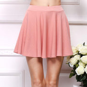 USA SIZE Large size women's high waist half skirt umbrella skirt pleated skirt sundress