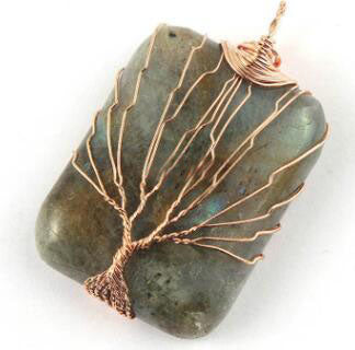 Crystal Life Tree Pendant