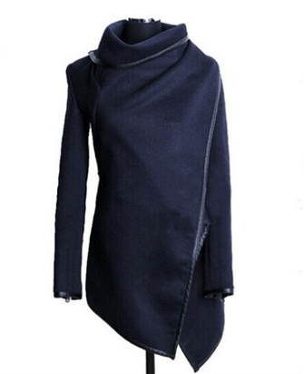 Autumn and Winter Slim Chic Women Woolen Coat