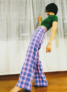 The Carousel Plaid Pant