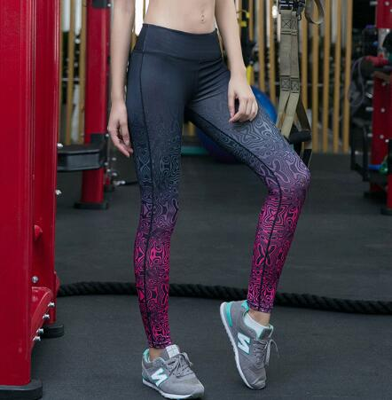 Women Fitness Highly Stretch Sports Leggings