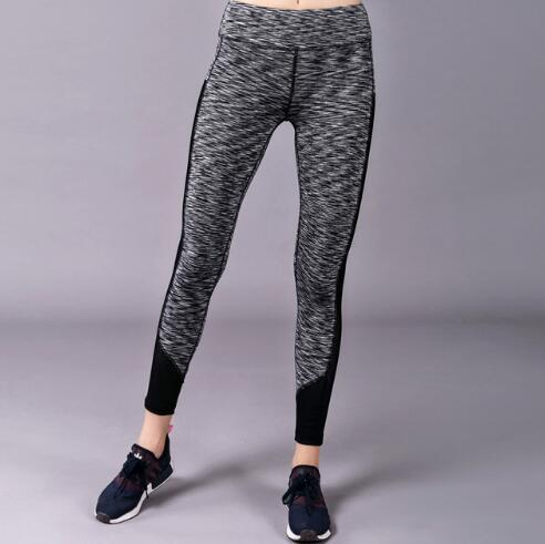 Flexible Glitter Sports Fitness Leggings