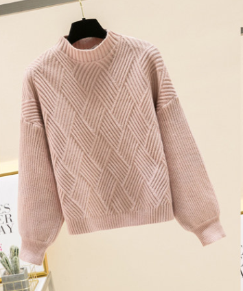 half-neck sweater women