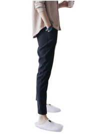 25/5000   The new style of nine-point pants smoke pipe trousers, Korean version 100 suit trousers, trousers, pants and pants.