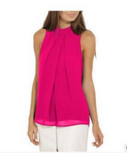 Casual Sleeveless Chiffon Shirt