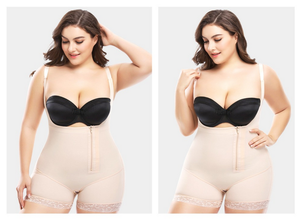 Extra size shaping underwear