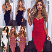 """LAUREN"" SEXY LACE PENCIL DRESS"