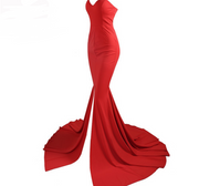 Off-the-shoulder Gorgeous Mopping Gown