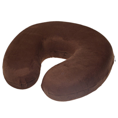 U Shaped Slow Rebound Memory Foam Travel Neck Pillow for Office Flight Traveling